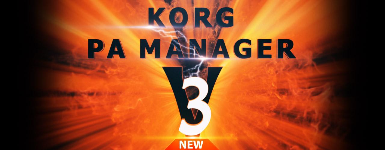 KORG PA MANAGER